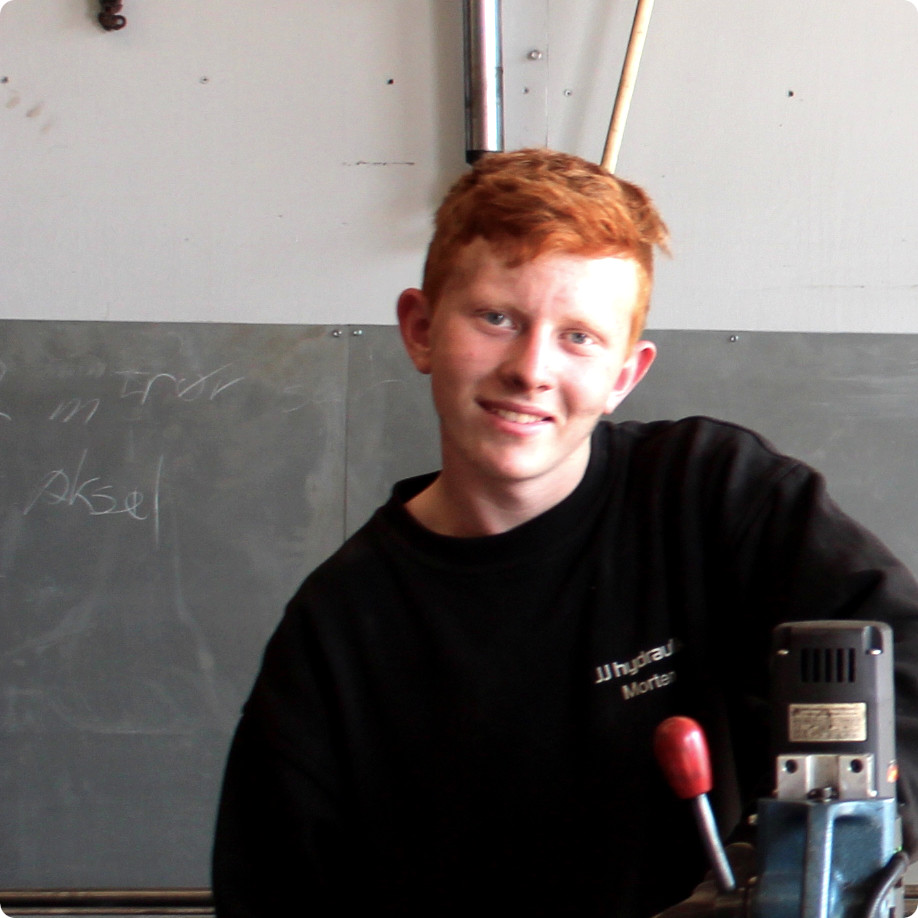 Morten fra jj hydraulik