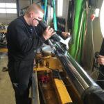 måling cylinder